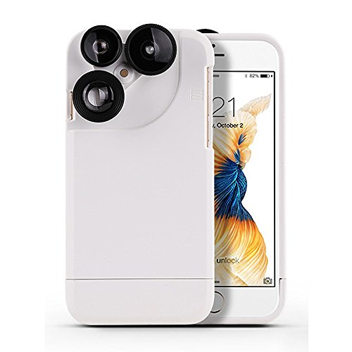 4 in 1 Rotating Camera Lens Case for IPhone 6Plus/6SPlus/6/6s - 1