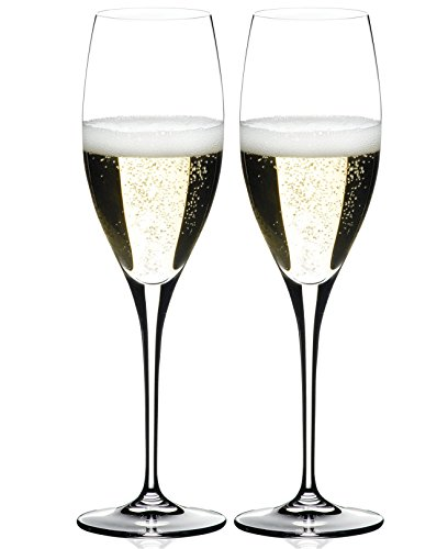 Riedel Heart to Heart Champagne Glasses, Set of 2 ()