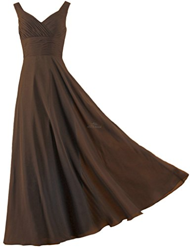 brown dresses for prom - 2
