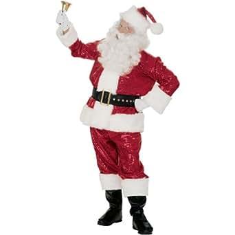 Rubie's Costume Co Rd Seq. Santa Suit with Fur Costume