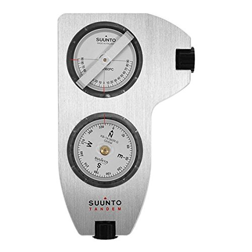 Suunto Kompass TANDEM/360PC/360R G CLINO/COMPASS, weiß, One size, SS020420000