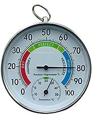 OVBBESS Temperatuur en Vochtigheid Analoge Indicator Indoor Outdoor Thermometer Hygrometer L15