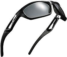 Omorc Gafas de sol deportivas Neutral Para Hombre y Mujer ,Polarizadas