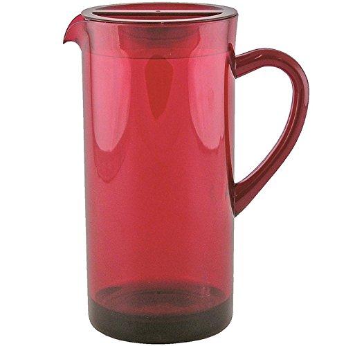 0078-1442 Zak Designs Jarra Color Rojo 1,7 L