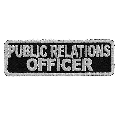 Public Relations Officer Patch - 3x1 inch