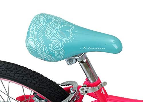 Schwinn Elm Girl's Bike with SmartStart, 18'' Wheels, Pink by Schwinn (Image #4)