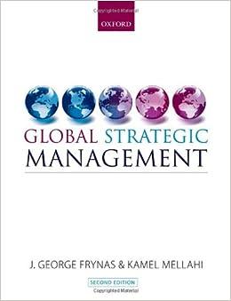 Book Global Strategic Management