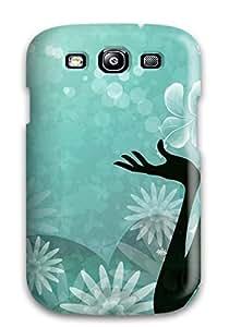 AndreaPope Fashion Protective Beautiful Girl Turquoise Vectors Widescreen Case Cover For Galaxy S3 wangjiang maoyi