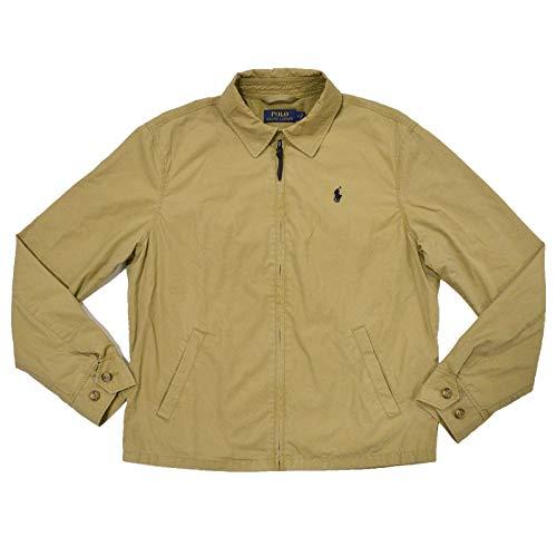 Polo Ralph Lauren Men's Windbreaker Light Jacket Coat Tan