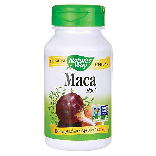 Nature's Way Premium Herbal Maca Root 525 mg