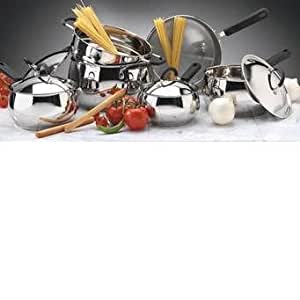 Chef Trends Commercial 7 Piece Stainless Steel Cookware Set