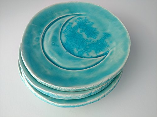 crescent-moon-blue-ring-dish-glass-galaxy-catch-all-soap-dish-small-plate-trinket-dish-gift-handmade