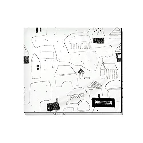 Dono&Dono All Seasons Cotton Cuddle Blanket for Babies and Kids (Petit Village)