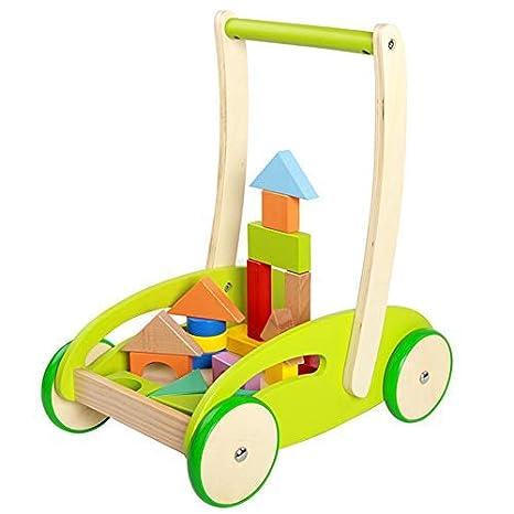 Caminante de madera Nuevo andador de aprendizaje multifuncional ...