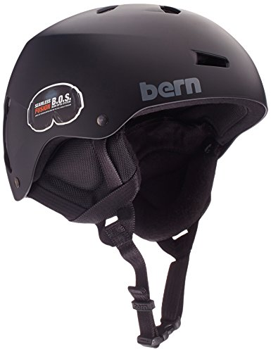 Bern Team Macon Helmet (Matte Black, Medium)
