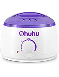 Hot Wax Warmer, Ohuhu Electric Wax Warmers Melting Pot for Facial Skin Body Hand Foot Leg Hair Removal, Waxing Heater Pot Machine for Other Therapeutic Waxes, Paraffin