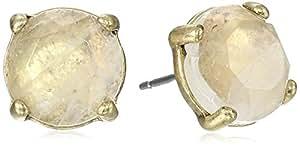 Lucky Brand Rock Crystal Stud Earrings