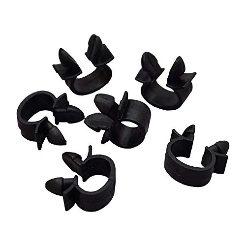 FFTH 10 Pieces Wiring Cable Loom Harness Holder Clip Replacement for Oe # 7703079070: