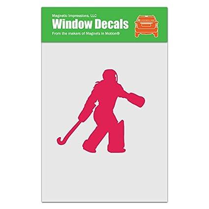 Amazon Com Magnetic Impressions Field Hockey Goalie Car Window