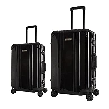 PLATINIUM Set de 2 maletas rígida policarbonato Luxe 8 ...