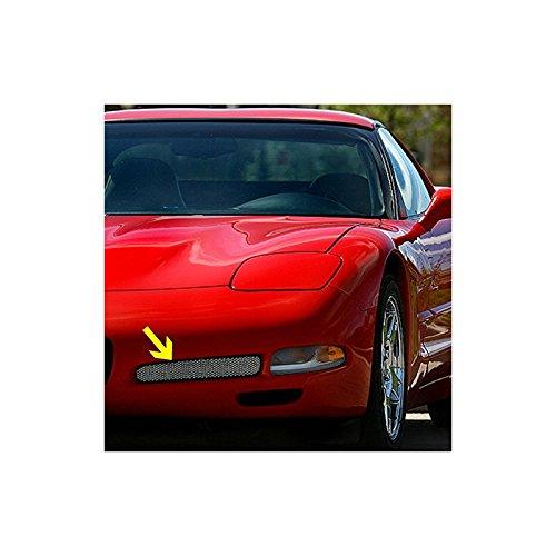 Fog Light Screens (Eckler's Premier Quality Products 25-128978 - Corvette Fog Light Screens Z06 Style Stainless Steel)