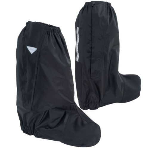 (Tour Master Deluxe Adult Street Motorcycle Boot Rain Covers - Black/X-Small)