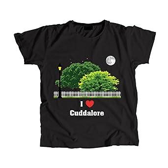 I Love Cuddalore Men's Round T-Shirt Black: Amazon in: Clothing