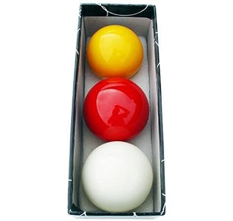 Juego bolas carambolas tricolor: Amazon.es: Deportes y aire libre