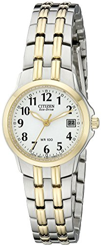 Citizen Women's Eco-Drive Watch with Date, EW1544-53A (Citizen Watch Eco Ladies Drive)