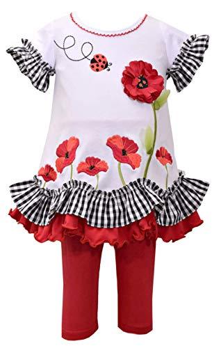 Bonnie Jean Girls Poppy Ladybug Legging Set (4)