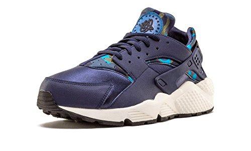 Air de Wmns Huarache Print Marino Obsidian Sail Mujer Azul Black Run para Deporte Zapatillas Nike Y5qpdY