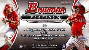 2014 Bowman Platinum Baseball box (20 pk (Platinum Hobby Box)
