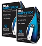 #5: True Metrix Blood Glucose Test Strips Box of 50x2