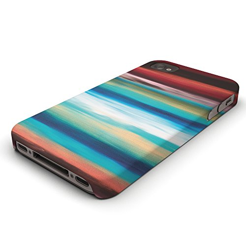 Koveru Back Cover Case for Apple iPhone 4/4S - Horizontal Lines
