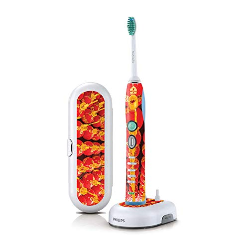 MightySkins Skin Compatible with Philips Sonicare 7 Series FlexCare+ Rechargeable - Chinese Lanterns | Protective, Durable, and Unique Vinyl Cover | Easy to Apply and Change Styles | Made in The USA
