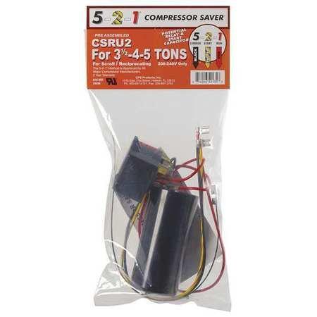 Control Tone Capacitor - Hard Start Kit, 3.5-4-5 tons A/C Units