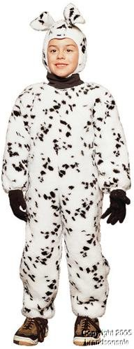 Dalmatian Jumpsuit - Plush Toddler Costume (Dalmatian Costumes For Toddlers)