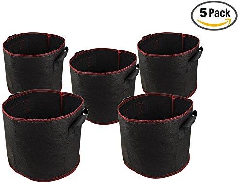 NKTM 5 Packs Planter Flowers Vegetables product image