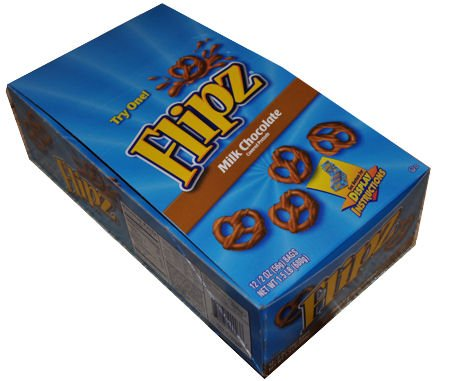 Flipz Chocolate Covered Pretzels by FLIPZ
