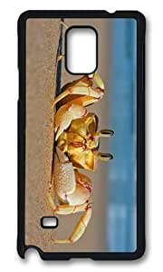 Adorable Crab on Beach Hard Case Protective Shell Cell Phone Samsung Galxy S4 I9500/I9502