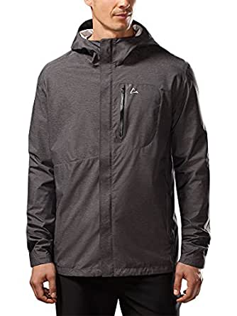 Paradox Men S Elite Waterproof Rain Jacket Large Black