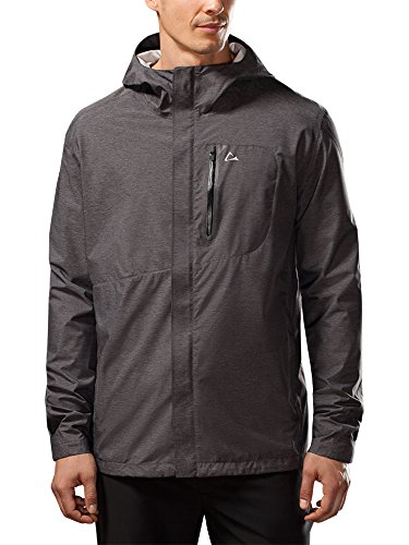 Paradox Men S Elite Waterproof Rain Jacket Xl Black