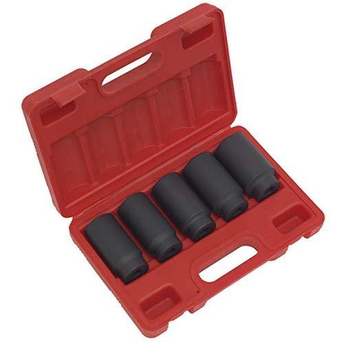 "US Pro 5pc 1//2/"" Dr Deep Impact Hub Nut Socket 30-32-34-35-36mm B1431"