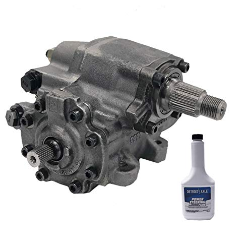 Detroit Axle - Brand New Power Steering Gearbox Complete Assembly - Left Hand Drive for Jeep - Gear Steering Jeep