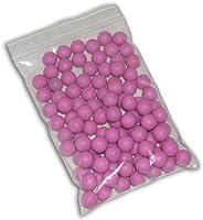 100 Reusable Rubber .50 Caliber Paintballs Case target indoor play zball spyder