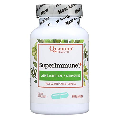 Super Immune Plus Lysine - 90 vegicaps,(Quantum Health)