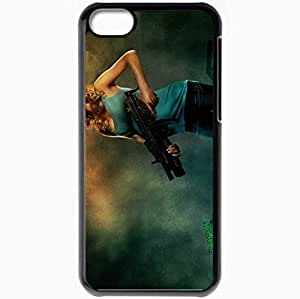 Personalized iPhone 5C Cell phone Case/Cover Skin 2010 legion movie movies Black