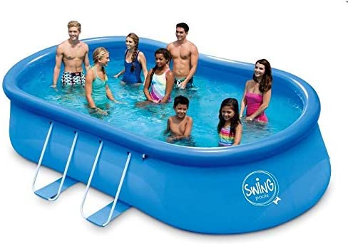 Mountfield Swing - Piscina Ovalada (457 x 274 x 107 cm): Amazon.es ...