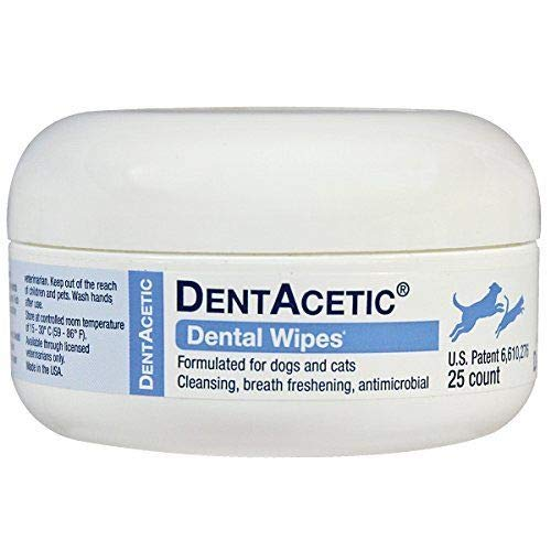 Dentacetic Dog (DentAcetic Dental Wipes (25 Count))