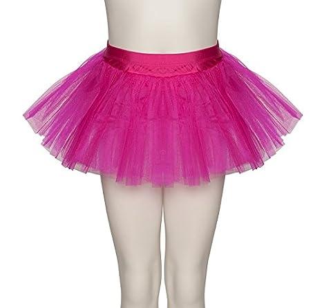 Las damas snki morphsuit 3 baila Ballet Fuchsia Red capa falda del ...